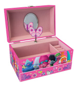 Joy Toy 67686 Trolls Jewellery Box with Drawer and Music in Gift Wrap
