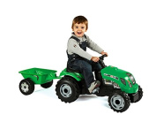 Smoby - Tracteur enfant GM Vert SMOBY