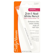 Sally Hansen 2-in-1 Nail Whitener Pencil, 0.85 g