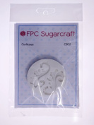 Curlicues - Silicone Icing Mould for Cake and Cupcake Decoration by FPC