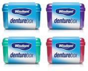 Wisdom DENTURE RETAINER Mouth Guard Storage CASE Container Box Hygienic Storage