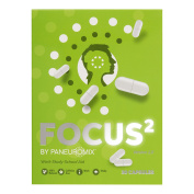 FOCUS² - THÉ CAFFEINE FREE - Focus and Concentration Pills Supplement - Boosts Mental Energy, Drive and Motivation