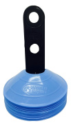 World Sport 50 Disc Cone Set With Carrier - Choose From 10 Colours