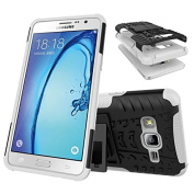 On5 Case, Galaxy On5 Case, Asstar Samsung Galaxy On5 Case Impact Resistant Shock-Absorption Dual Layer Tough Rugged Protective Case with Kickstand for Samsung Galaxy On5