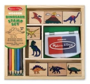 Melissa & Doug Dinosaur Stamp Set, year, olds, games, store, children, stamps, toys, arts, dinosaurs