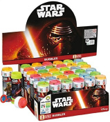 Box of 36 Pots of Boys Girls Star Wars Bubbles Film Party Bag Stocking Fillers Garden Game Idea