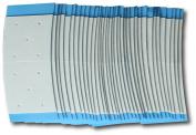 "Air Flex Mini 1.9cm x 3.8cm long 1-pk of 36 Slight ""C"" shape curve"