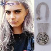Sunny GraceRemy Virgin Brazilian Hair Clip In Extensions Clip In Brazilian Hair Extensions grey Clip In Human Hair Extensions