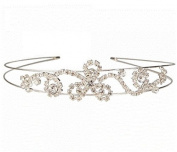 Exquisite Rhinestone Wedding Bridal Crown Headband 04 by Ozone48