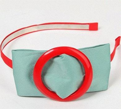 . Cute Bow Headband Green by Ozone48