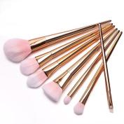 Tenworld 7PCS Professional Brush High Brushes Set Make Up Blush Brushes Makeup Brush