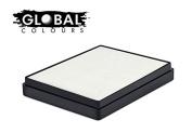 Global Body Art Water Based Face Paint - Standard White 50gr