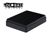 Global Body Art Face Paint - Standard Strong Black 100gr