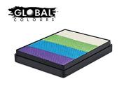Global Body Art Face Paint - Rainbow Cake Sri Lanka 50gr