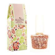 Alloya Natural Non Toxic Nail Polish, Kid Safe, 110 Bride's Aura