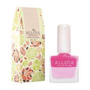 Alloya Natural Non Toxic Nail Polish, Kid Safe, 103 Peach Delight