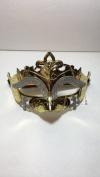 Beautiful Gold Masquerade Mask