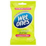 Wet Ones Cleansing Anti Bacterial Wipes 12 per pack