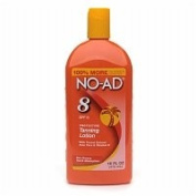 NO-AD Protective Tanning Lotion, SPF 8, 470ml - 2pc