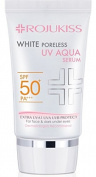 Rojukiss White Poreless UV Aqua Serum SPF 50+ PA+++ Sunscreen 30ml for Face and dark under eyes , UVA/UVB protection