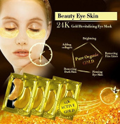 24K Gold Crystal Collagen Anti-Ageing Under Eye Masks - 12 Treatments/ 24 pads