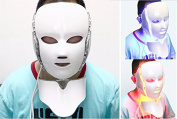 Carer 3 Colour LED Facial Neck Mask Skin Massager Rejuvenation Anti-Ageing Beauty Light for Home Use