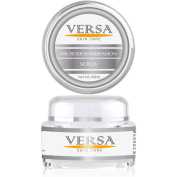 VERSA - Microdermabrasion scrub - how to get rid of acne blackheads = clean and clear pores - Advanced dermatology - Jojoba Esters, Polyethylene, 60ml