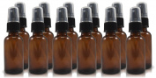 30ml Amber Glass Spray Bottle, Refillable Glass Atomizer Spray Bottles