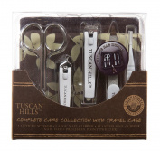 Tuscan Hills Complete Grooming Collection with Travel Case