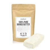Mango Butter by Better Shea Butter - Pure & Fresh - Amazing Moisturiser, Use Alone or in DIY Body Butters, Soaps, Lotions and More - Lighter Consistency than Shea Butter - Unscented - 240ml