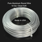 10ga / 7.6m Aluminium Round Wire (Dead Soft) By Modern Findings