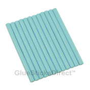 GlueSticksDirect Baby Blue Coloured Glue Sticks Mini X 10cm 12 sticks