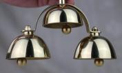 14cm H Church Altar Brass Bell Unique Design LD-3A2