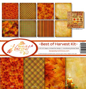 Reminisce BOH-200 Best of Harvest Paper Collection Kit
