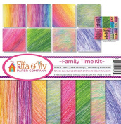 Ella & Viv by Reminisce EAV-856 Family Time Paper Collection Kit