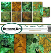 Reminisce BCB-200 Buccaneer Bay Paper Collection Kit