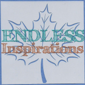 Endless Inspirations Original Stencil, 15cm x 15cm , Maple Leaf