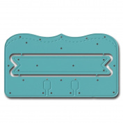 Maya Road DIE3349 Scroll In-Dex Card & Banner Steel Cutting Die -