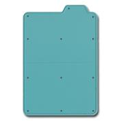 Maya Road DIE3351 Tabbed File Folder Steel Cutting Die -