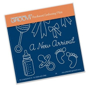 Groovi New Arrival A6 Plate - Laser Etched Acrylic for Parchment Craft