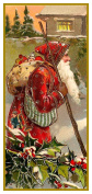 Father Christmas Santa Claus 82 Holiday Counted Cross Stitch Pattern