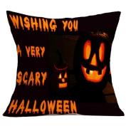Halloween Pillowcases,Muxika 4620cm Fashion Top Quality Halloween Pillow Case Sofa Waist Throw Cushion Cover Home Décor