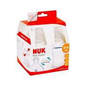 NUK First Choice Plus Fireworks 150ml Bottle Silicone Teat 4 per pack