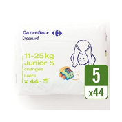 Carrefour Discount Size 5 Carry Pack 44 per pack