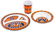 NCAA Auburn Tigers Kid's 3-Piece Dish Set