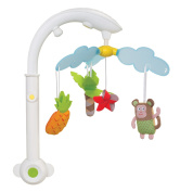 Taf Toys Baby Crib Mobile - Tropical Mobile with Light Projection and Music