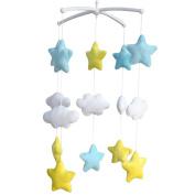 [Shiny Stars] Adorable Baby Crib Decoration Music Mobile