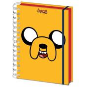 Official Adventure Time Jake Design A5 Hardback Notebook Journal Exercise Book