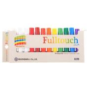 Hagoromo Fulltouch 10-colour Mix Chalk 12pcs