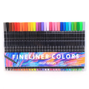 qianshan 30 Colours Fibre Tip 0.4MM Fineliner Pen Fine Point Sketch Drawing Marker